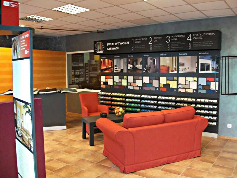 Nasz salon - Cemhurt Kujawy - farby i materiały budowlane